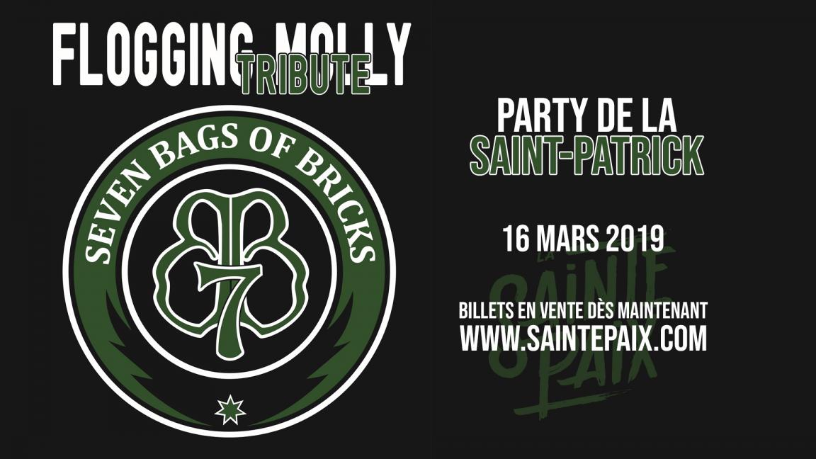 Hommage à Flogging Molly - Party de la St-Patrick