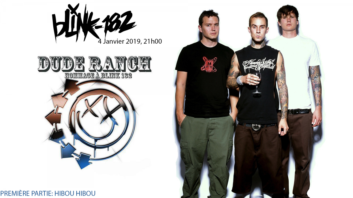 Blink 182 Dude ranch hommage + Hibou Hibou