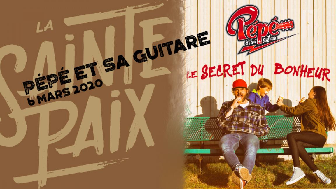 Pépé et sa guitare: Le secret du bonheur