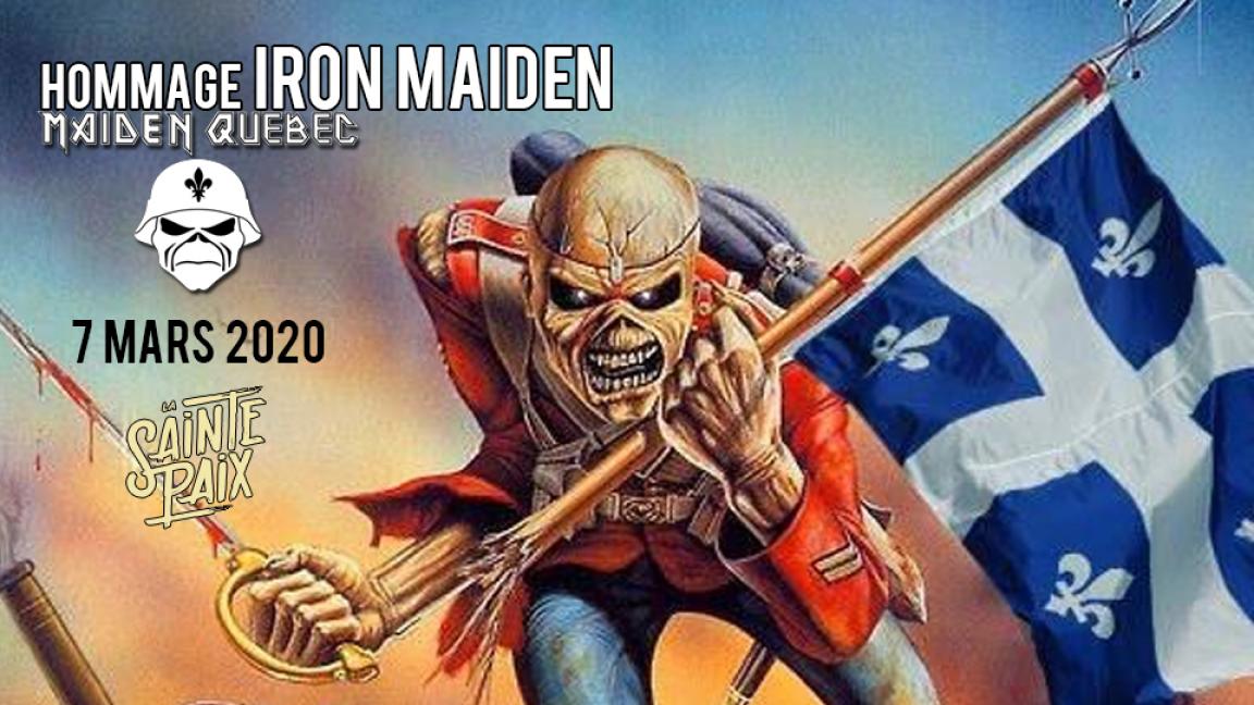 Iron Maiden (Hommage par Maiden Québec)