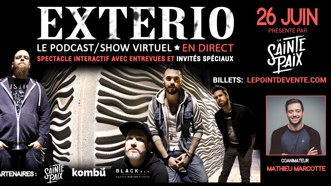 EXTERIO - Le podcast/show virtuel EN DIRECT
