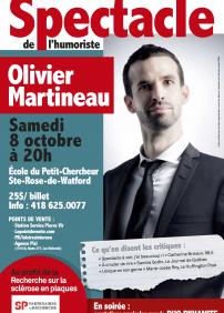 Spectacle de l'humoriste OLIVIER MARTINEAU