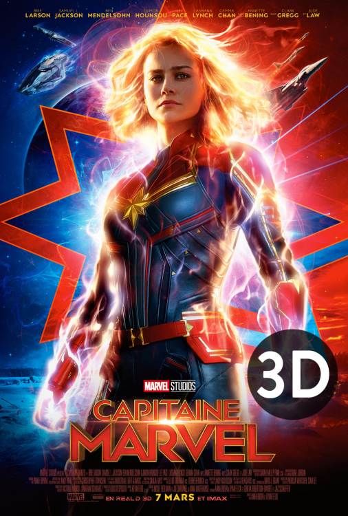 Capitaine Marvel 3D
