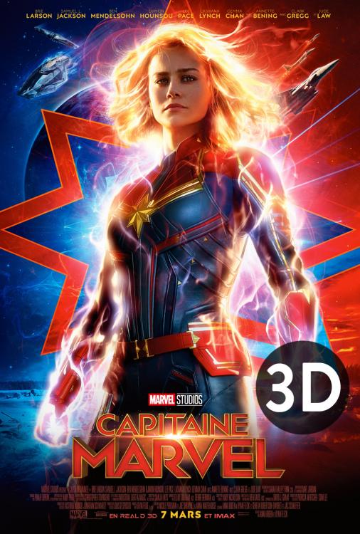 Capitaine Marvel 3D