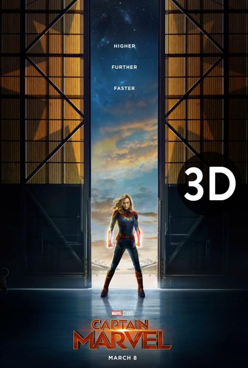 Captain Marvel 3D V.O.A.