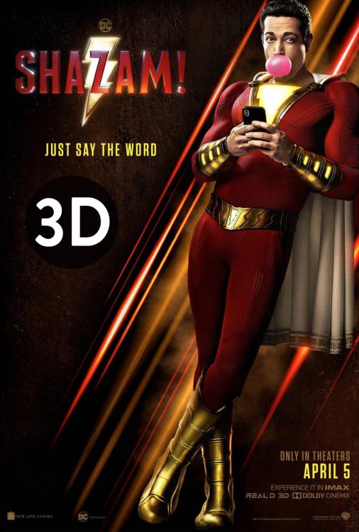 Shazam!. 3D V.O.A.