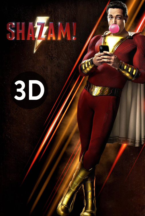Shazam! 3D V.F.