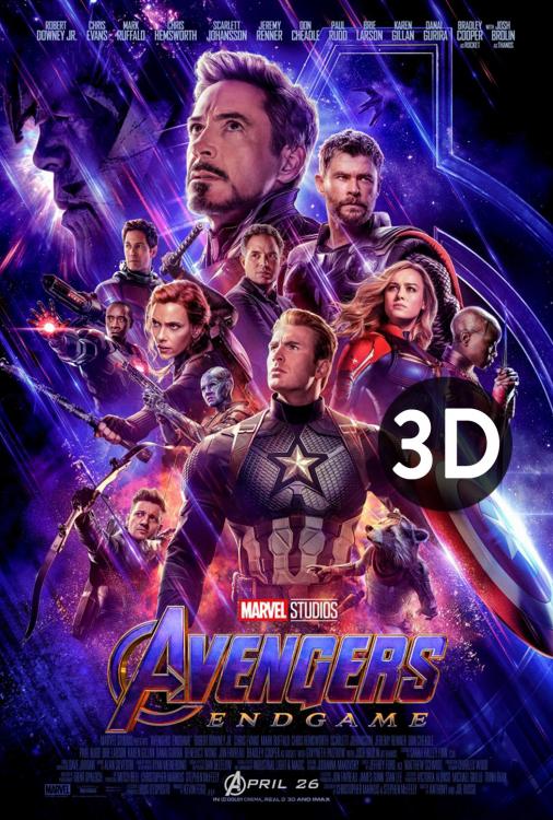 Avengers - Endgame 3D V.O.A.