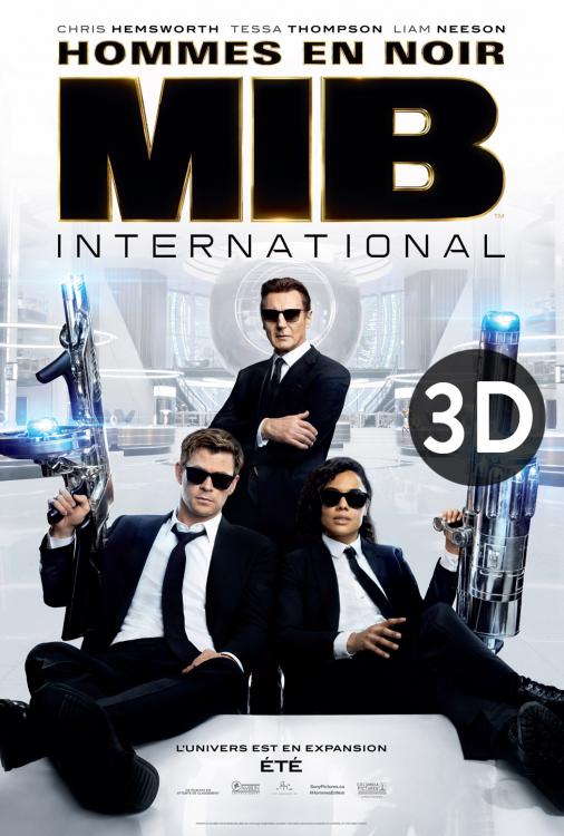 MIB - Hommes en noir international 3D V.F.