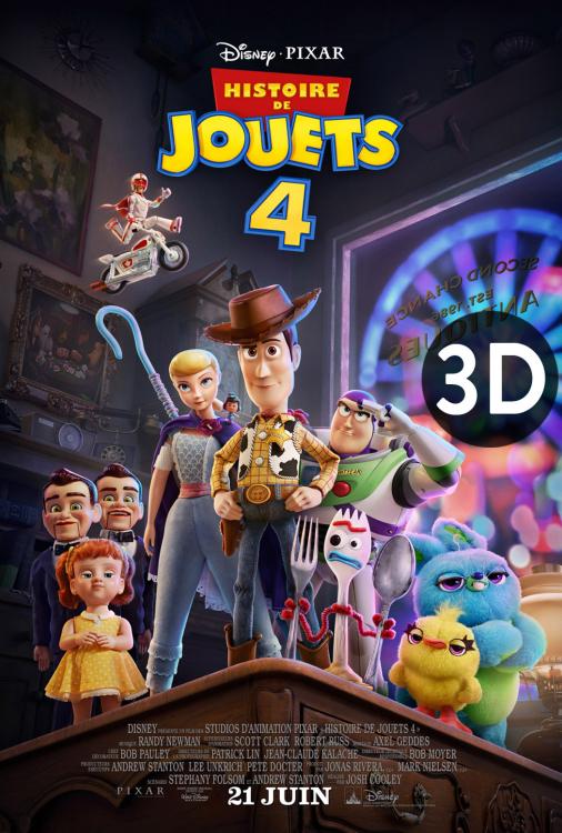 Histoire de jouets 4 3D