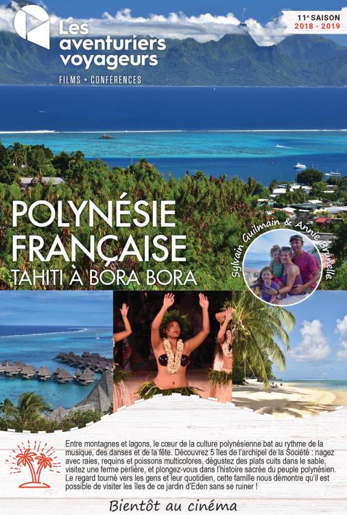 Ciné Voyage Polynésie Française - De Tahiti à Bora Bora