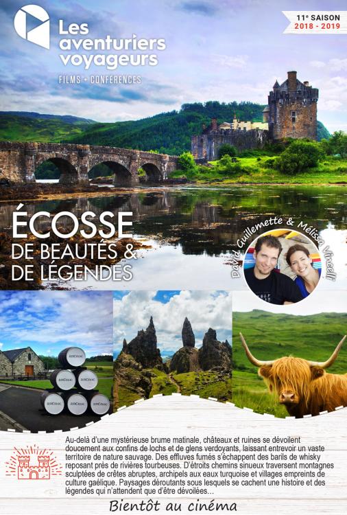 Ciné Voyage Écosse - De beautés et de légendes