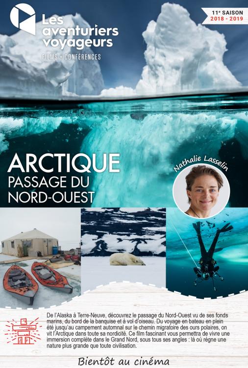 Ciné Voyage Arctique - passage du nord-ouest