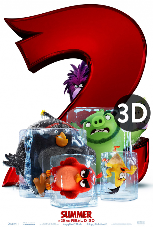 The Angry Birds Movie 2 3D V.O.A.