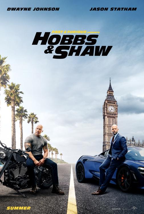 Rapides et Dangereux présentent Hobbs et Shaw V.F.