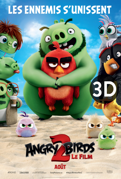 Angry Birds le film 2 3D V.F.