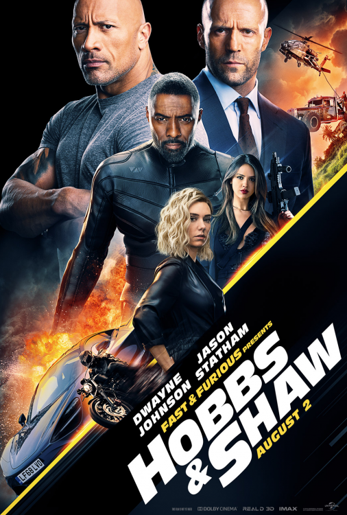 ( Fast and Furious Presents Hobbs and Shaw Salle VIP 18+ )