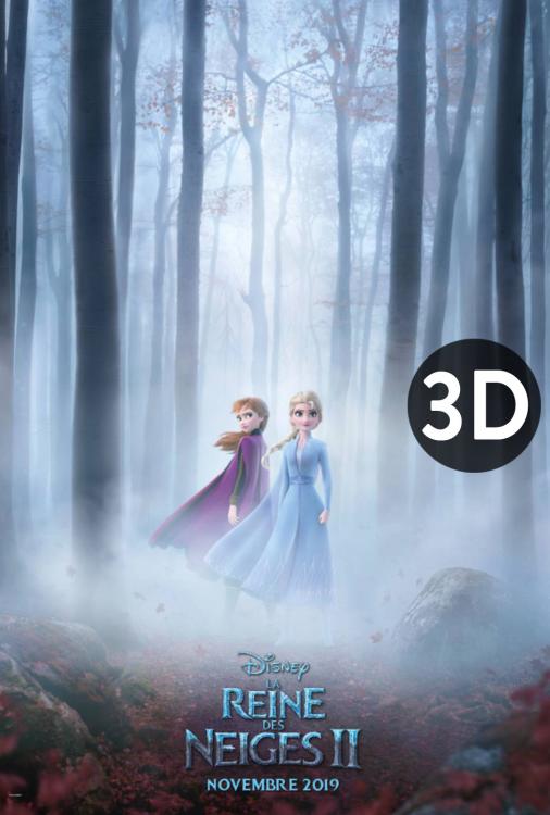 Reine des neiges 2 3D, La V.F.