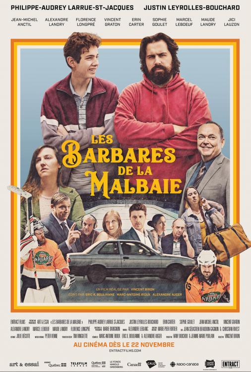 Barbares de La Malbaie, Les