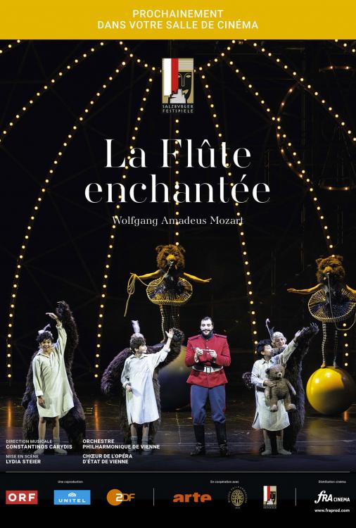 Festival de Salzbourg - La flûte enchantée V.O.S.-T.F.