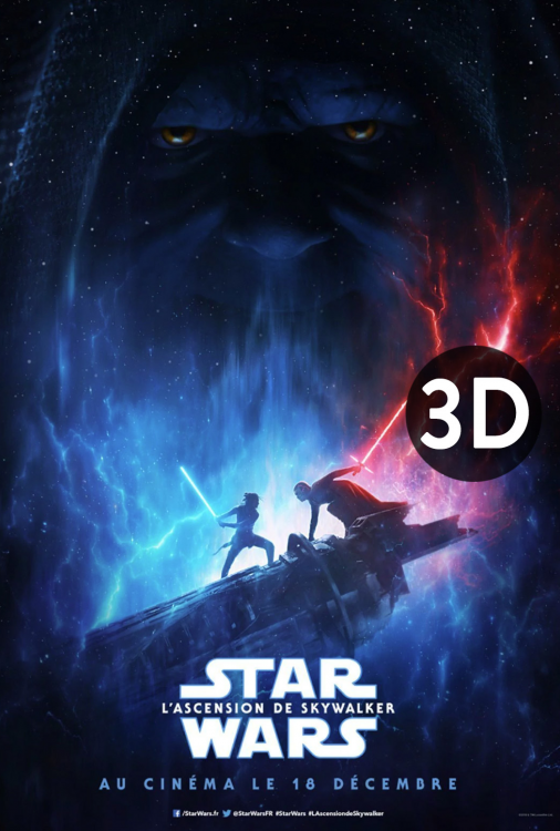 Star Wars - L'ascension de Skywalker 3D V.F.