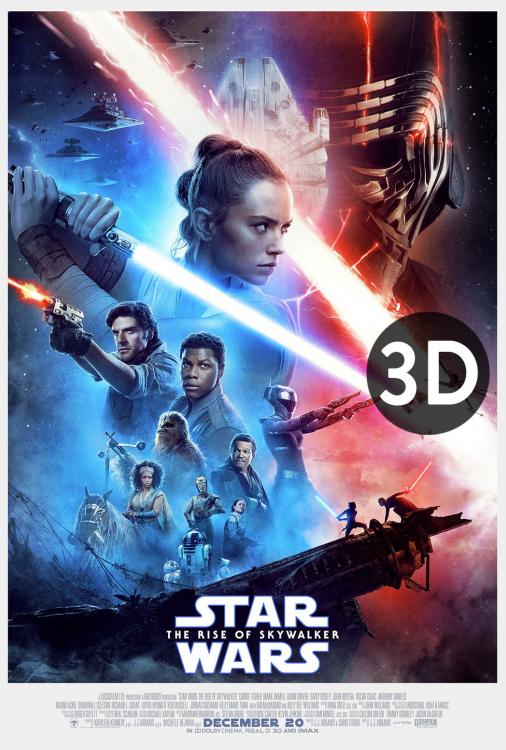 Star Wars - The Rise of Skywalker 3D V.O.A.