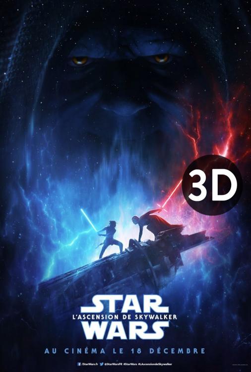 Star Wars - L'ascension de Skywalker 3D V.F.
