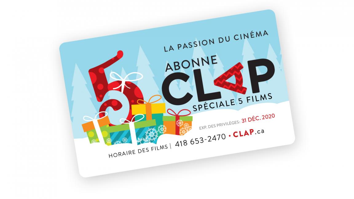 Abonne Clap 5 films