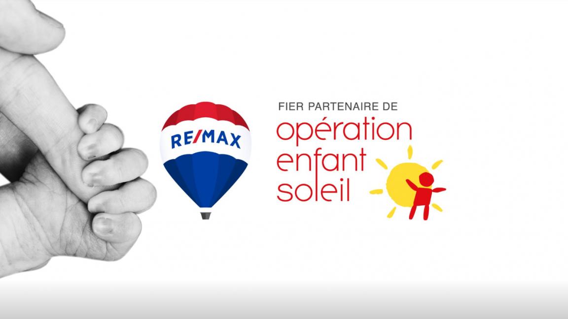 Cocktail Bénéfice 2020 au profit d'Opération Enfant Soleil par RE/MAX Fortin Delage