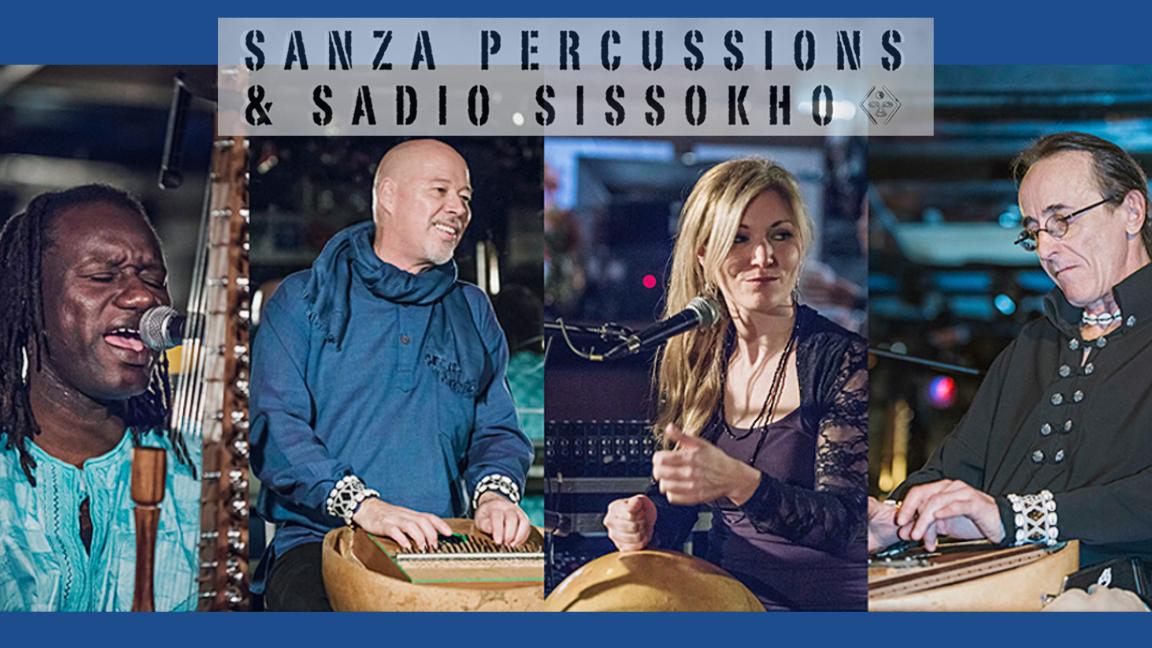 Sanza Percussions et Sadio Sissokho