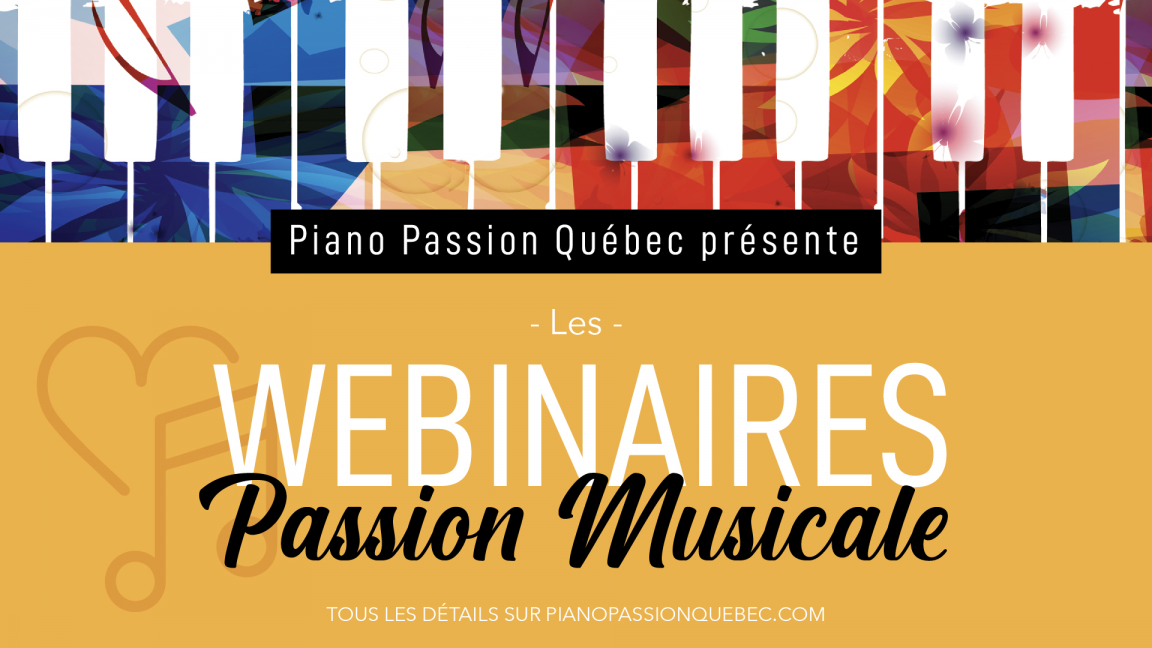 REDIFFUSION _ Les Webinaires Passion Musicale
