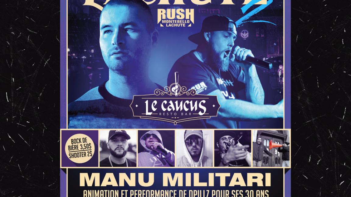 Hip-Hop Lachute 2 avec Manu Militari