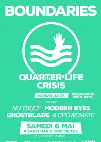 """Boundaries - Lancement de """"quarter Life Crisis"""""""