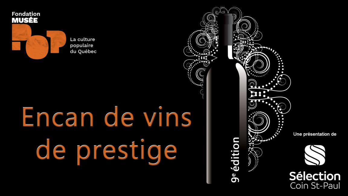 Encan de vins de prestige
