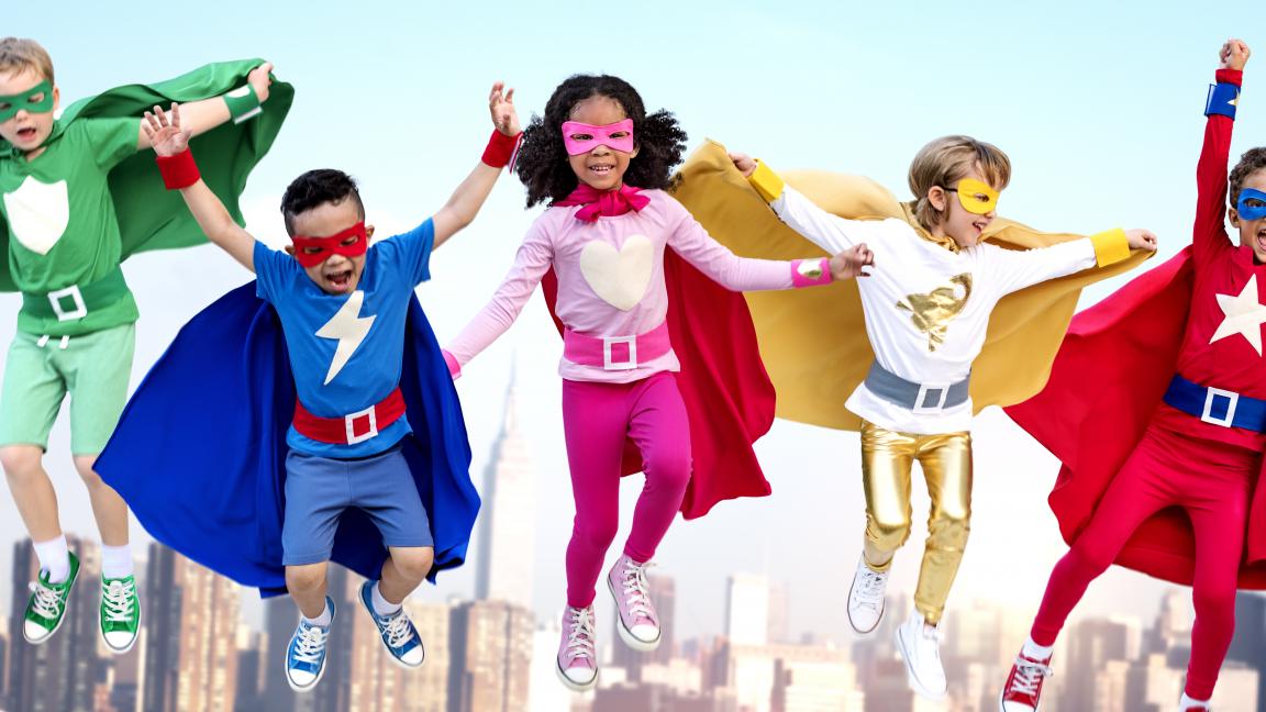 La POP-mascarade des superhéros