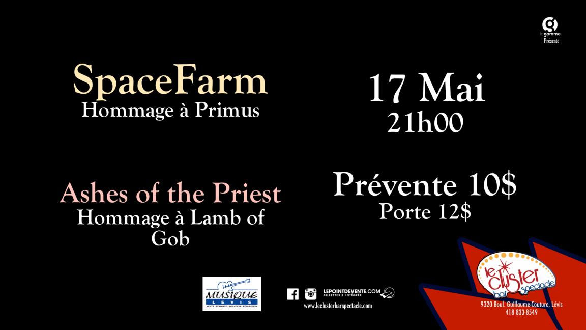 Hommage à Primus et Lamb of God