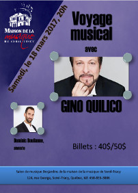 Gino Quilico, baryton, Dominic Boulianne, pianiste