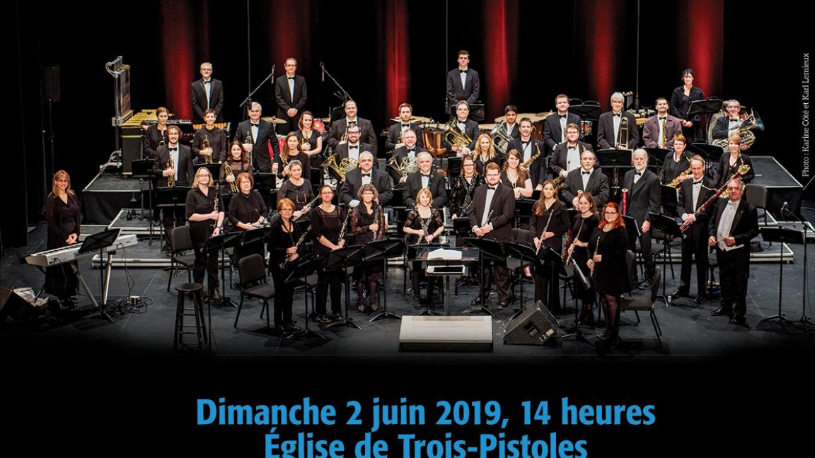 Ensemble Antoine Perreault, orchestre d'harmonie - 40 ans