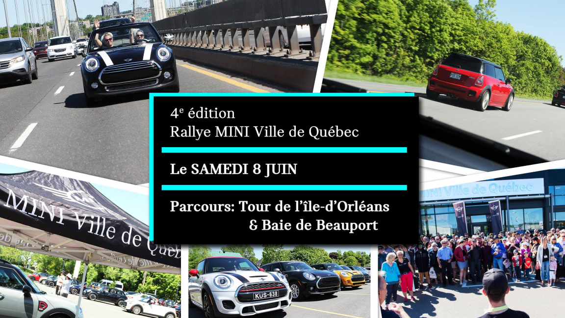 RALLYE MINI Ville de Québec 4e édition