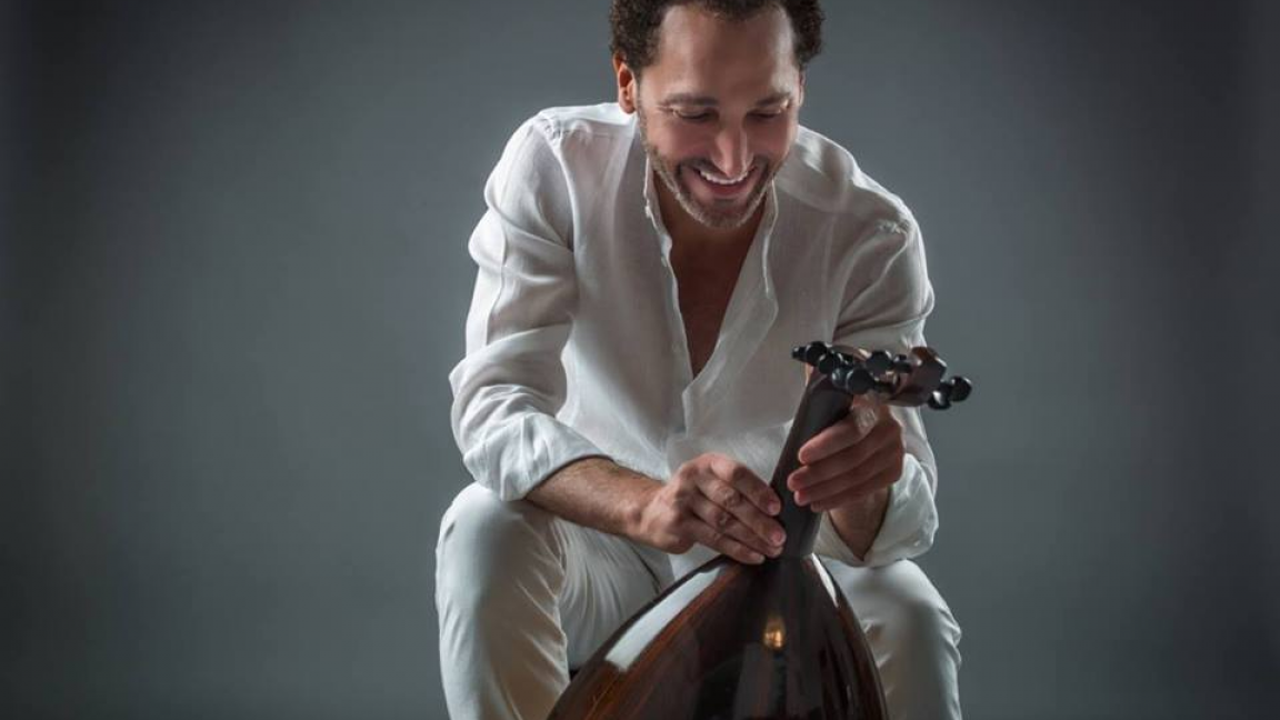 La route de Zyriab: NASSEER SHAMMA & Orontes Guitar Quartet