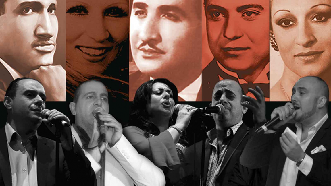 LES IMMORTELS: Great classics of tarab chaabi revisited