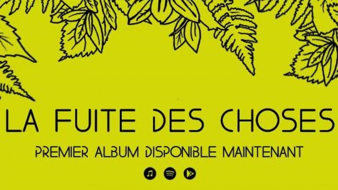Party & lancement de l'album ''La fuite des choses''