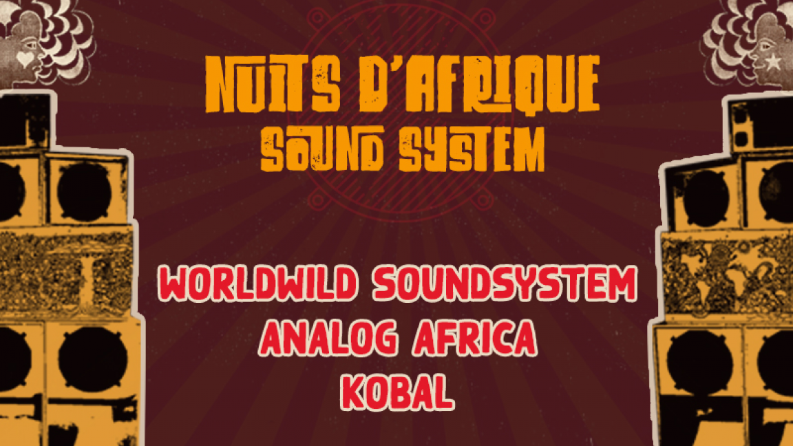 WorldWild SoundSystem invite Analog Africa