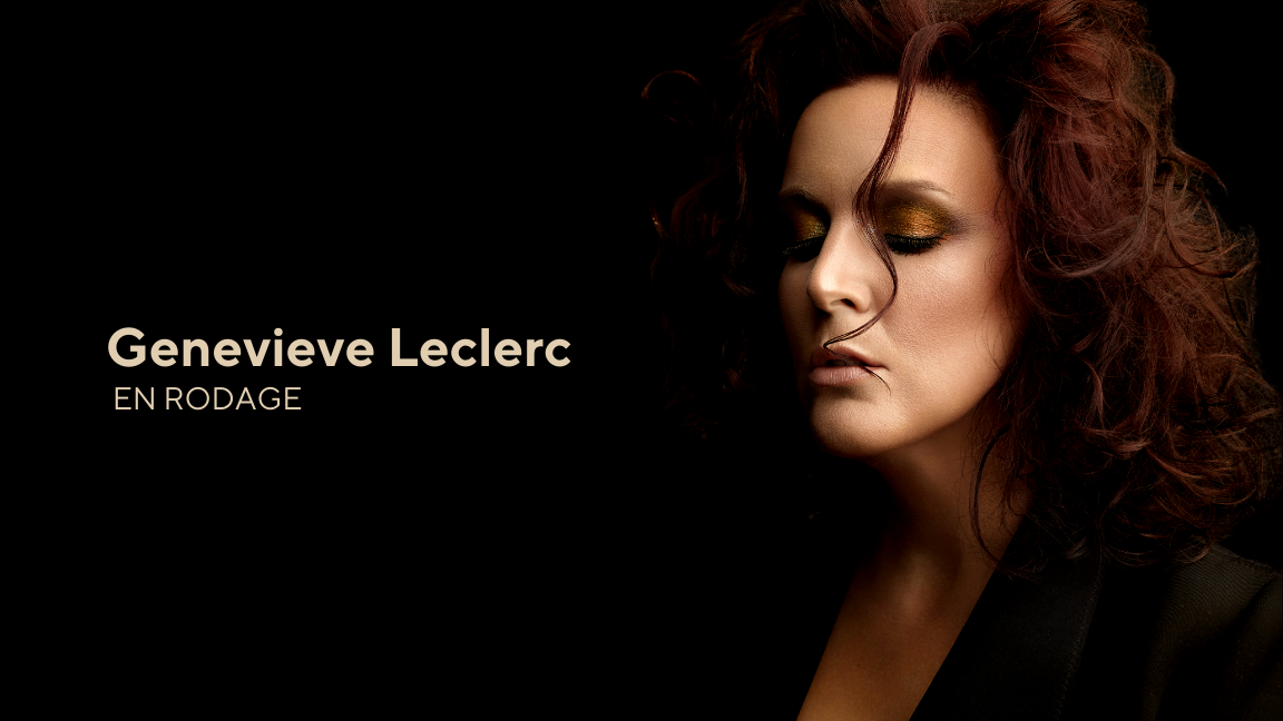 Genevieve Leclerc en rodage