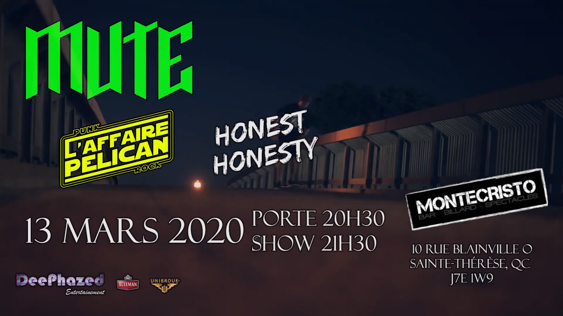 Mute - L'Affaire Pélican - Honest Honesty