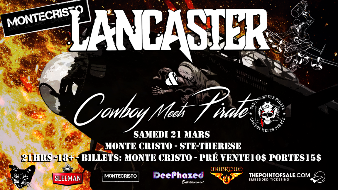 Lancaster & Cowboy Meets Pirate