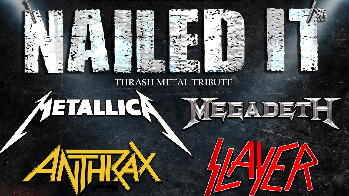 Metallica, Megadeth, Antrax & Slayer Tribute par Nailed It
