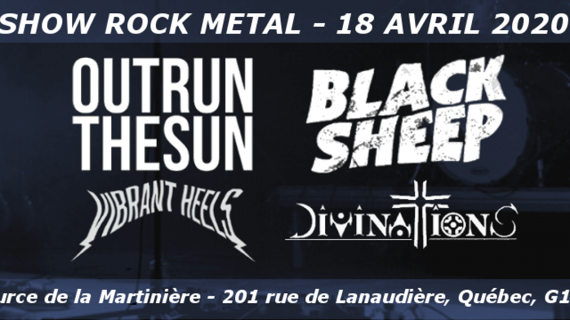 Outrun the Sun / Black Sheep / Vibrant Heels / Divinations