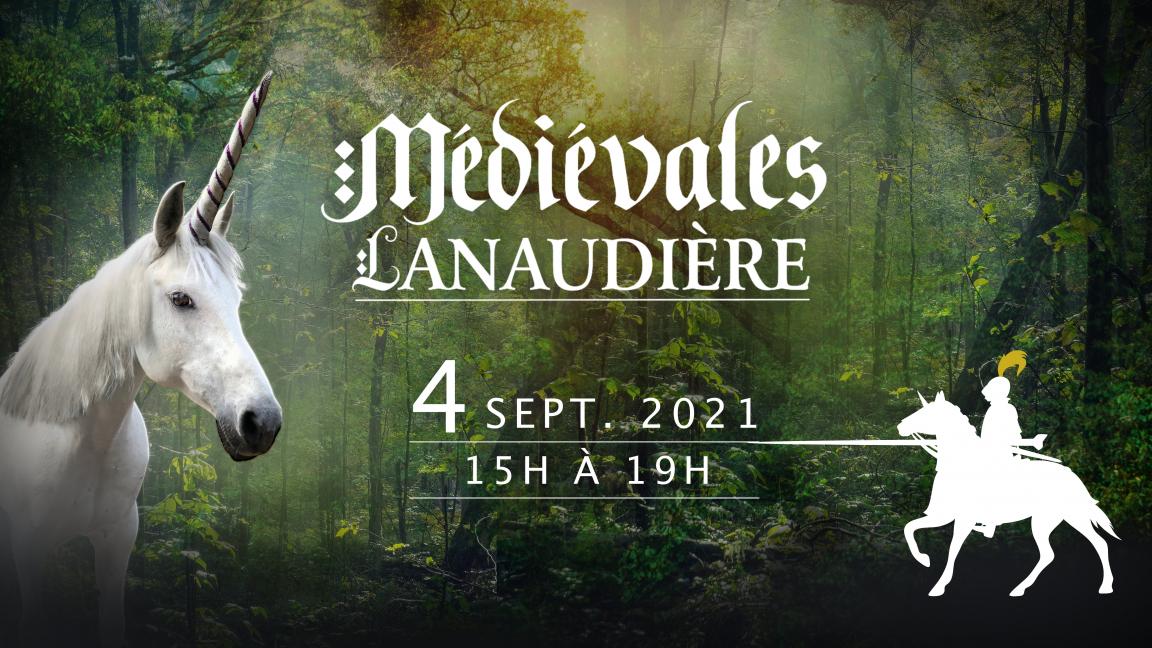 Samedi 4 sept. 15h à 19h - Médiévales de Lanaudière