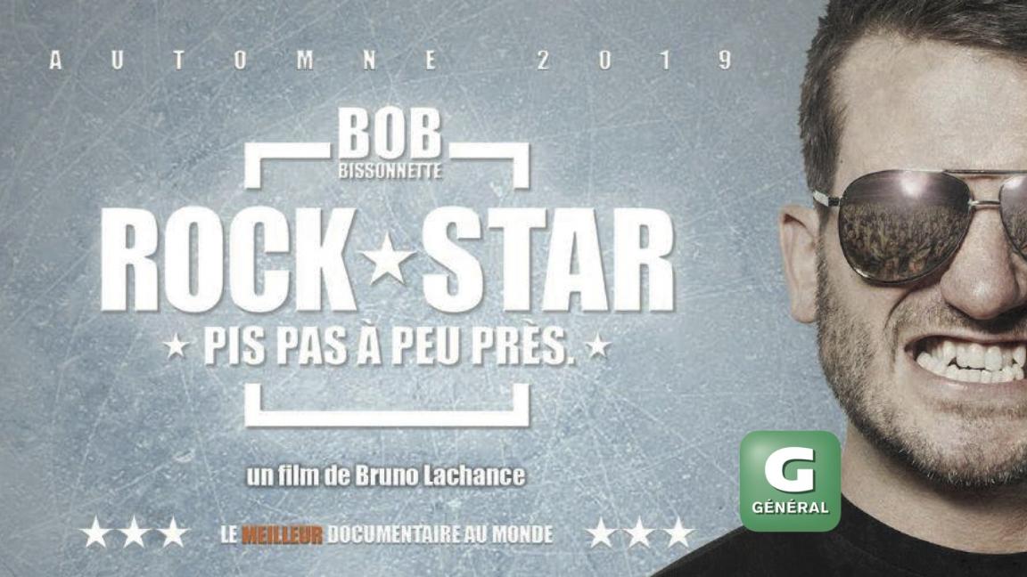 Projection du film BOB BISSONNETTE: ROCKSTAR pis pas à peu près.